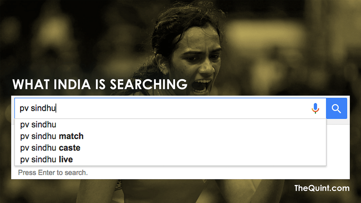 Here's comparing Google search suggestions between India and Spain (Design: Aaqib Raza Khan/<b>TheQuint)</b>