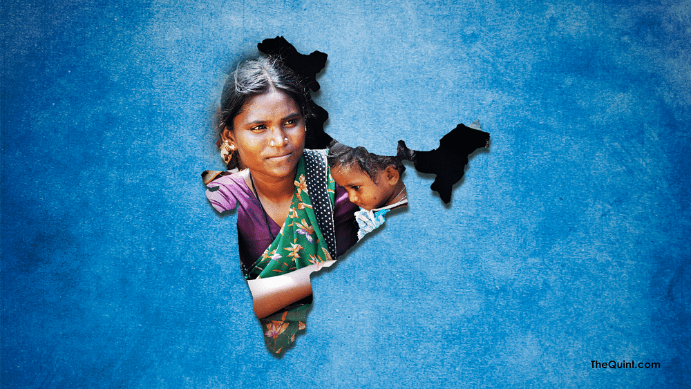 India has one-third of the world's poor population.