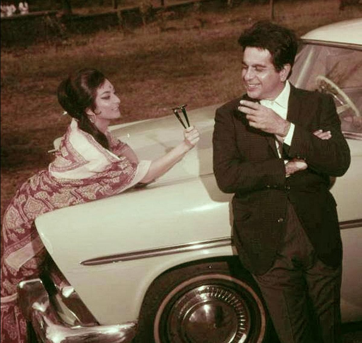 Saira Banu and Dilip Kumar had adorable chemistry on screen.