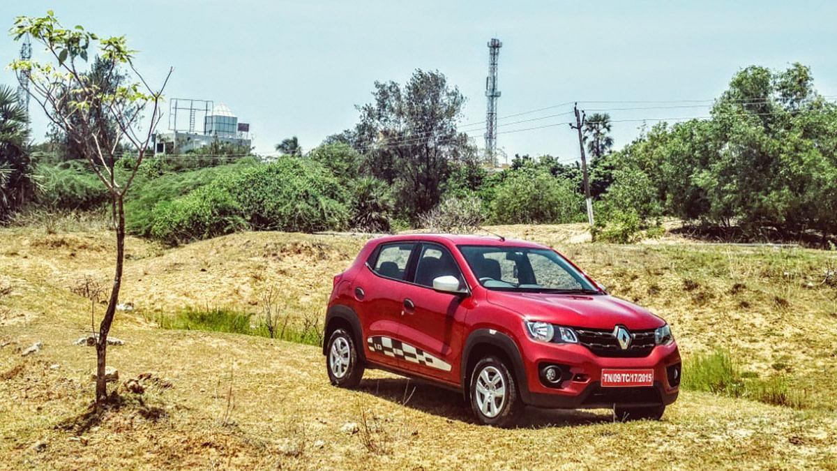 Renault Kwid 1.0-litre. (Photo Courtesy: Motorscribes)