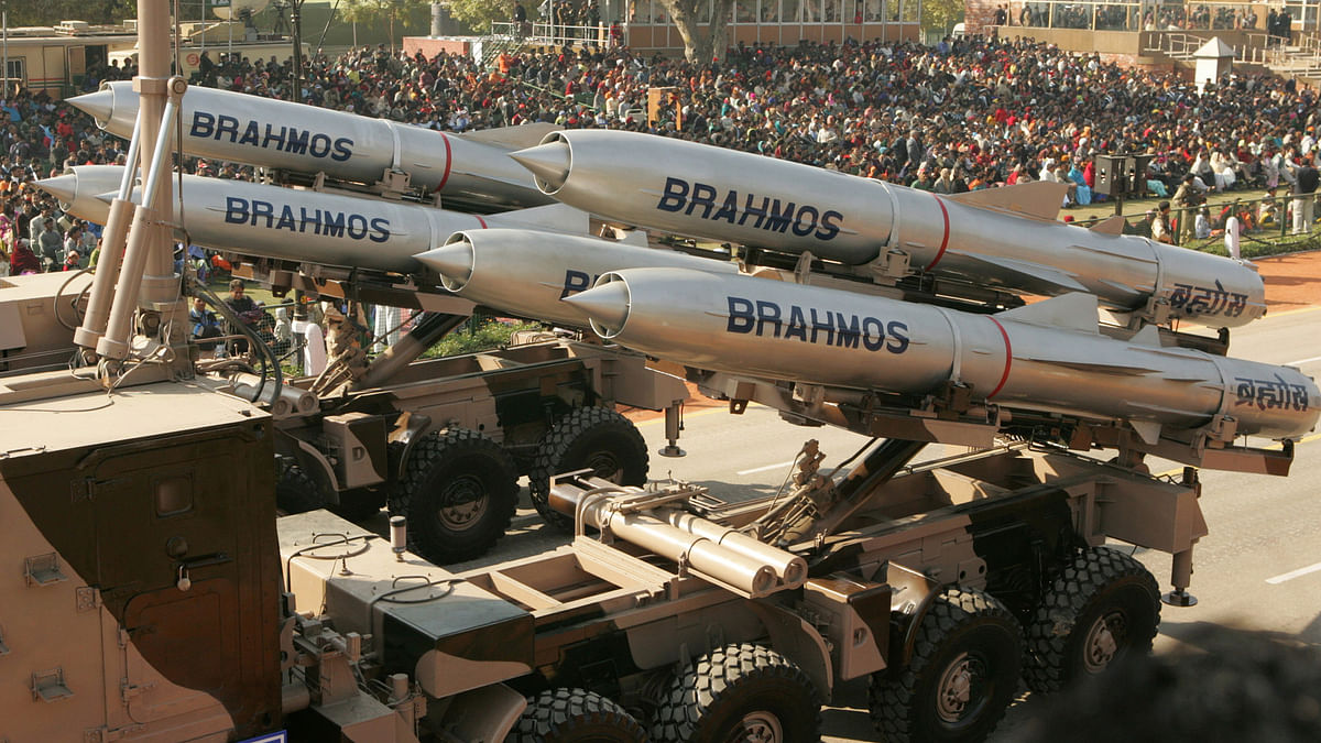 BrahMos is stealth supersonic cruise missile that can be launched from submarines, ships, aircrafts and land. (Photo: Reuters)
