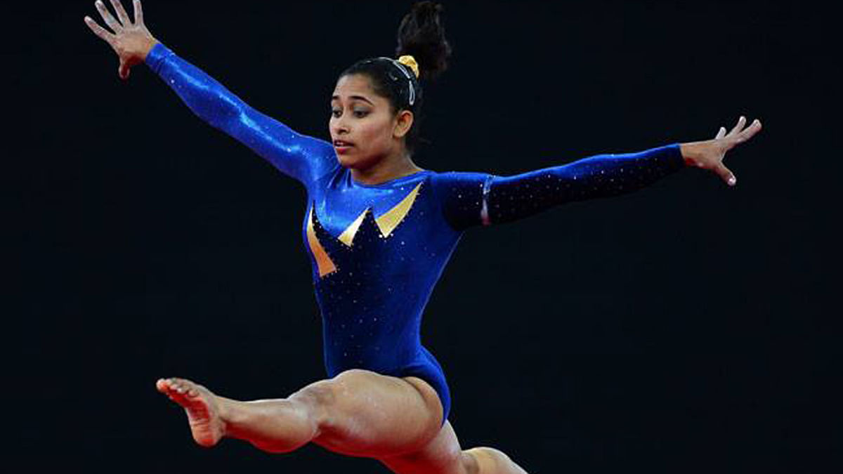 File picture of Indian gymnast Dipa Karmakar.