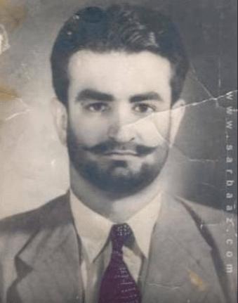 Akbar Bugti during younger days. (Photo Courtesy: YouTube Screenshot)