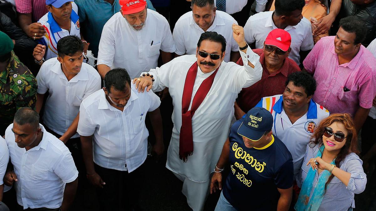 Mahinda Rajapaksa Takes Oath as Sri Lanka's 23rd Prime Minister