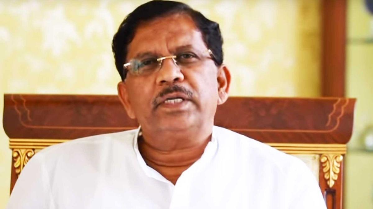 Karnataka Congress president G. Parameshwara.