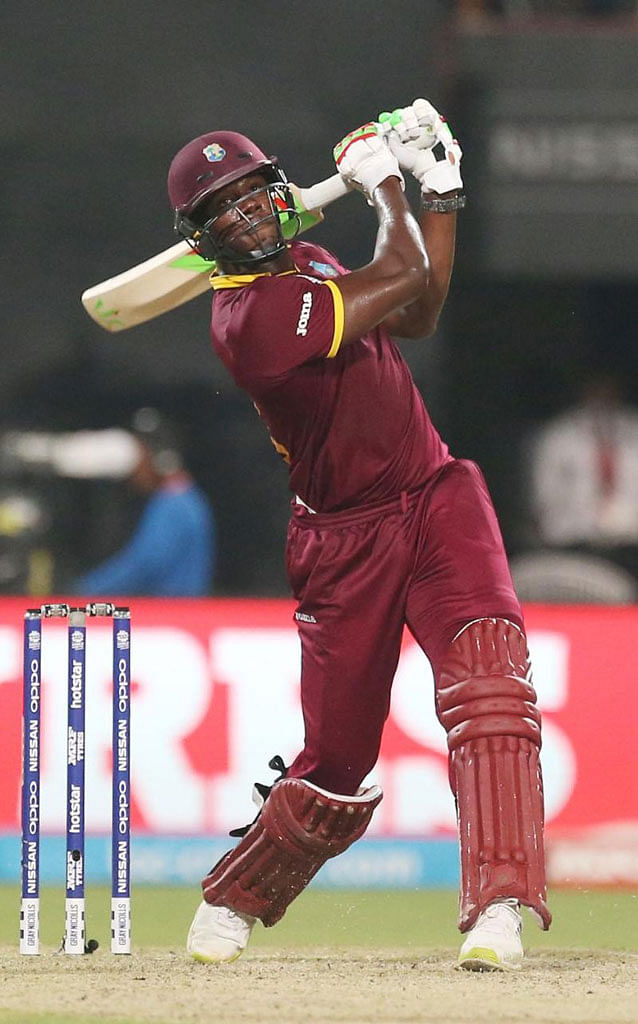 Carlos Brathwaite was instrumental for West Indies during the T-20 World Cup in India earlier this year. (Photo: AP)
