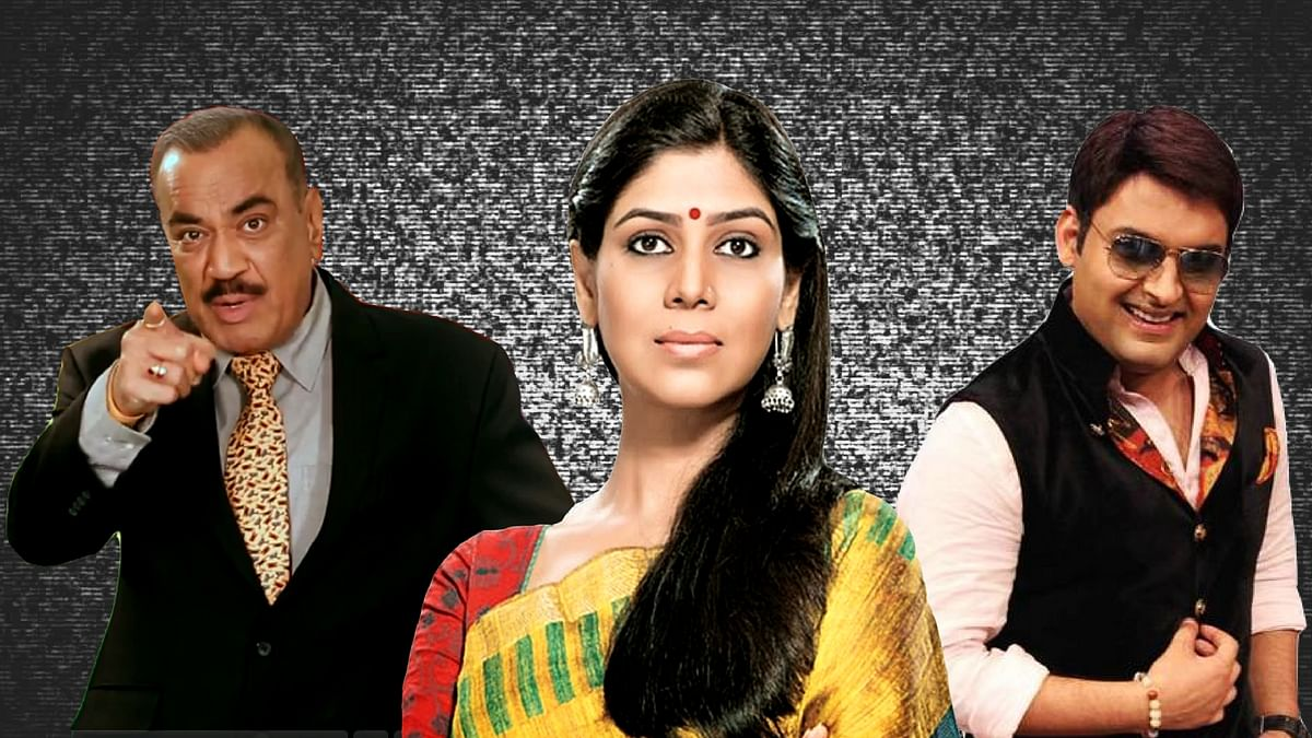 Shivaji Satam, Sakshi Tanwar and Kapil Sharma: Indian TV's biggest stars and how much they make. (Photo: Promotional stills, altered by The Quint)