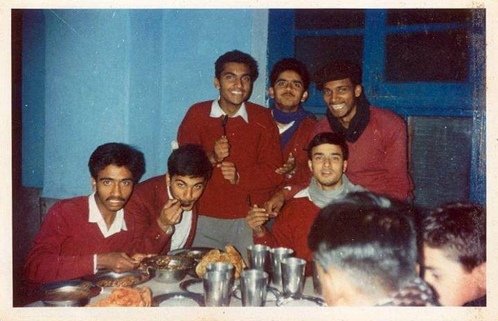 CRPF Commander Pramod Kumar with his school friends. (Photo: Puneet Monga)