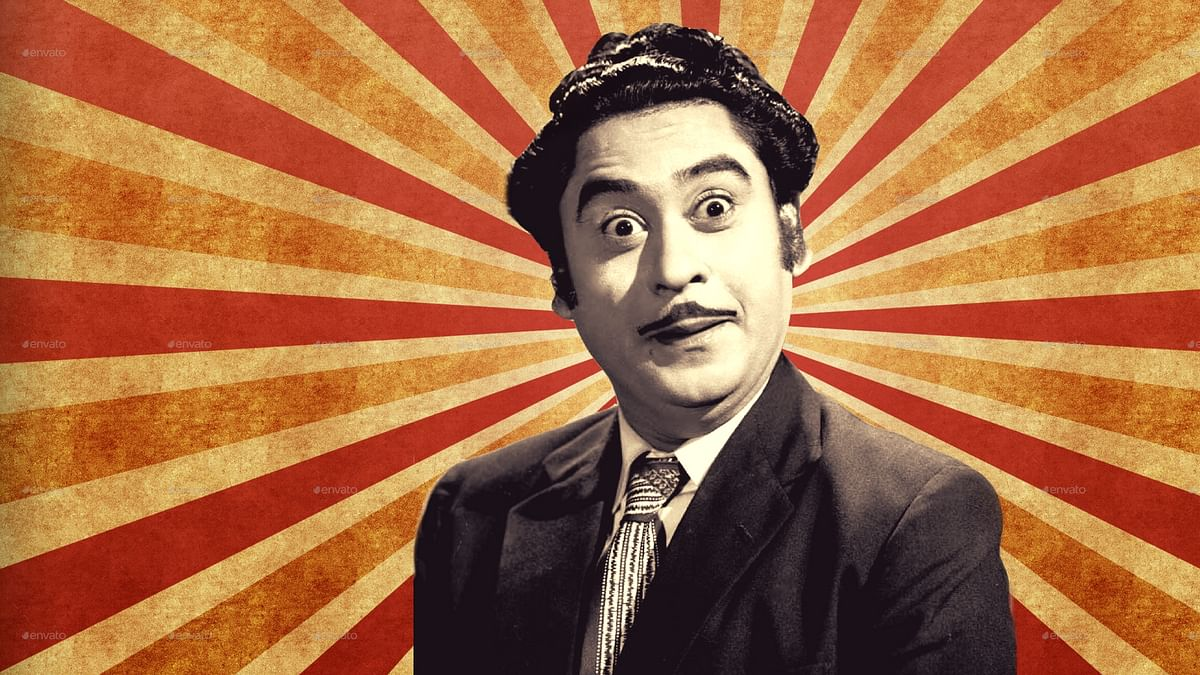 Kishore Kumar's music still brings out the crazy in us. (Photo courtesy: Twitter; altered by The Quint)