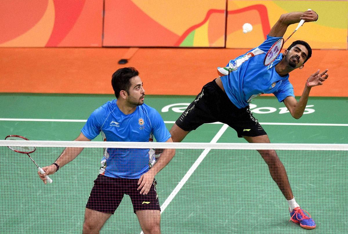 Manu Attri (L) and Sumeeth B Reddy (R). (Photo: PTI)