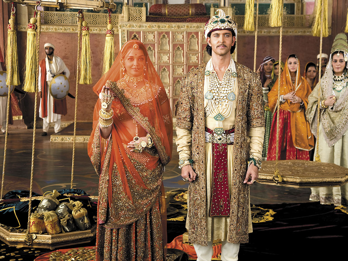 In Ashutosh Gowariker's movie, Jodhaa gets married to Akbar to save the Rajput kingdom from a war. (Photo: UTV Motion Pictures)