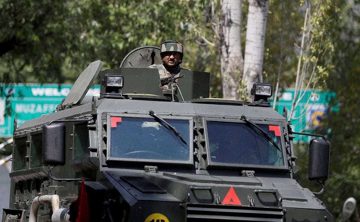 Increased security at the Uri camp after the terror attack that killed 18 Indian soldiers. (Photo: PTI)