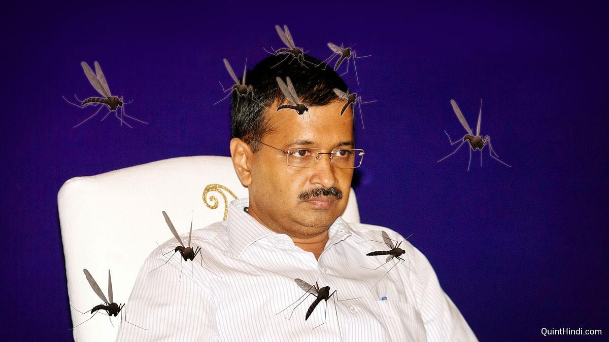 <i>Ek machhar, government ko denial mein daal deta hai!</i> (Photo: Altered by <b>The Quint</b>)