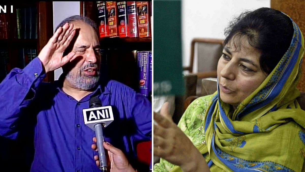 Trouble Within PDP, Muzaffar Baig Asks Mehbooba Mufti to Quit