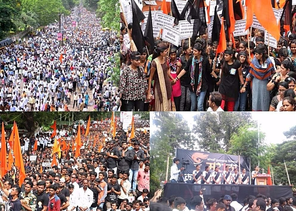 Young men and women are participating in huge numbers in the protest rallies. Social media, especially WhatsApp is a major tool to reach out to people. (Images collected from Twitter)