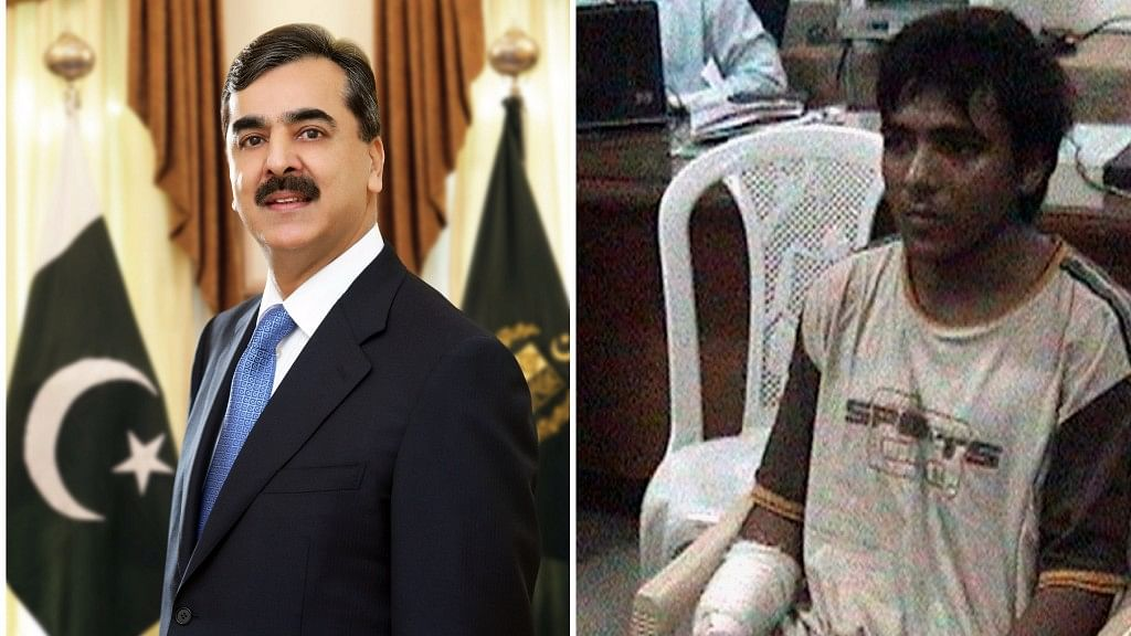 Former Pakistan's Prime Minister Yusuf Raza Gillani claims Ajmal Kasab did not belong to Pakistan. (Photo: <b>The Quint</b>)