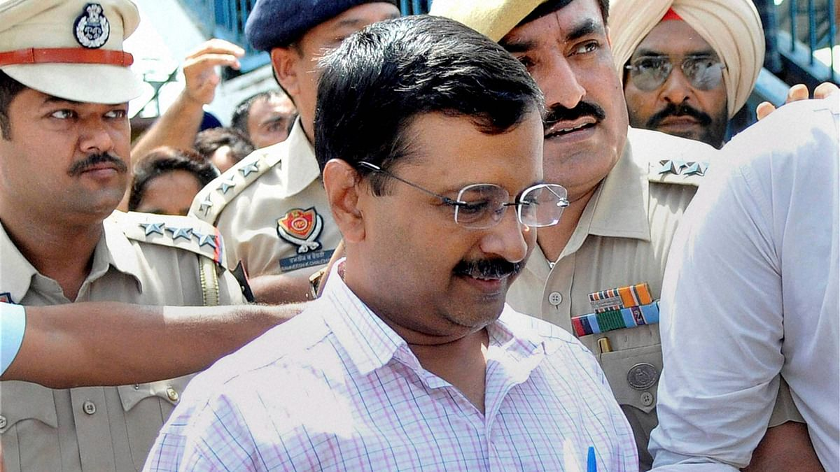 Kejriwal was on his way to Amritsar on the second day of his four-day visit to Punjab. (Photo: PTI)