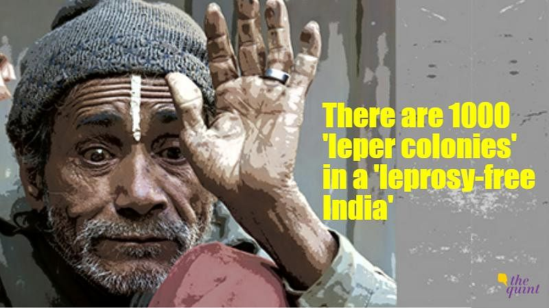 Conditions in these leper colonies differ drastically. (Photo: Nikita Mishra/<b>The Quint</b>)
