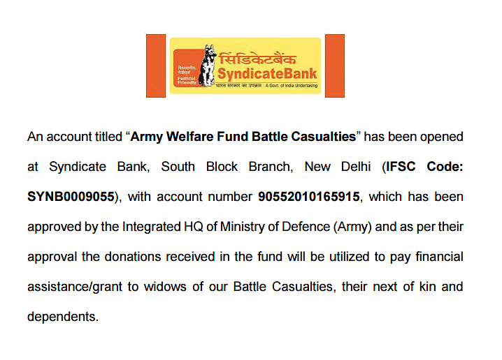 The Army Welfare Fund That You Might Think is a Hoax, But Isn't