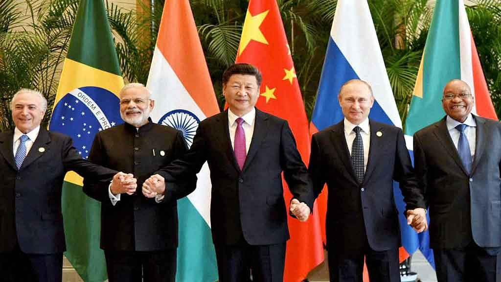 Chinese academics and analysts have floated the idea of pushing for a free-trade agreement among the BRICS. (Photo: PTI)