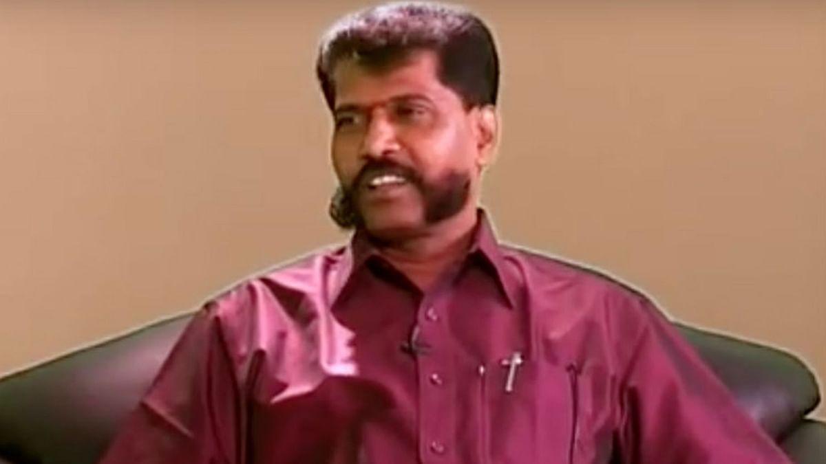 Tamil biweekly, <i>Nakkeeran</i>'s editor, R Gopal (Photo: The News Minute)