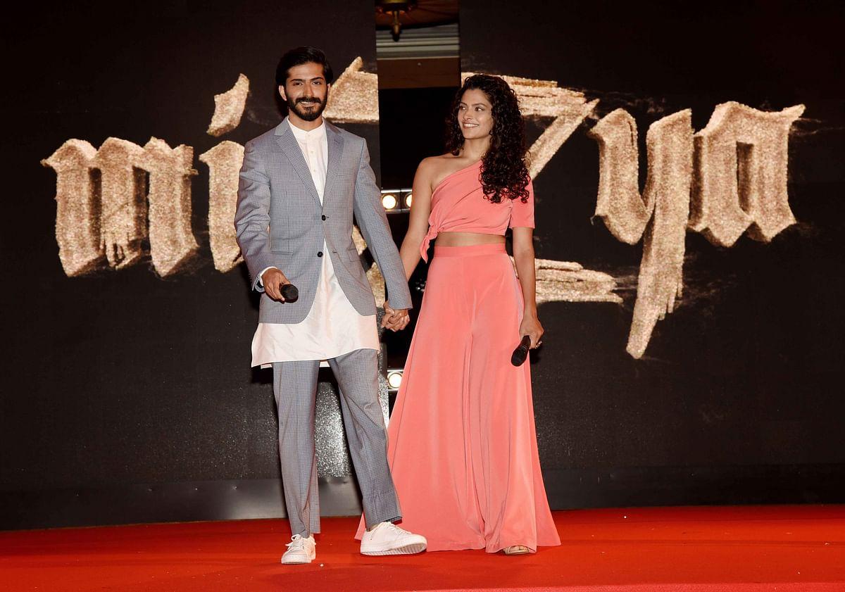 Introducing <i>Mirziya</i>'s Harshvardhan Kapoor and Saiyami Kher (Photo: Yogen Shah)