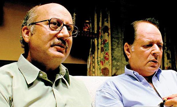 Anupam Kher and the late Navin Nischol in <i>Khosla Ka Ghosla.</i>