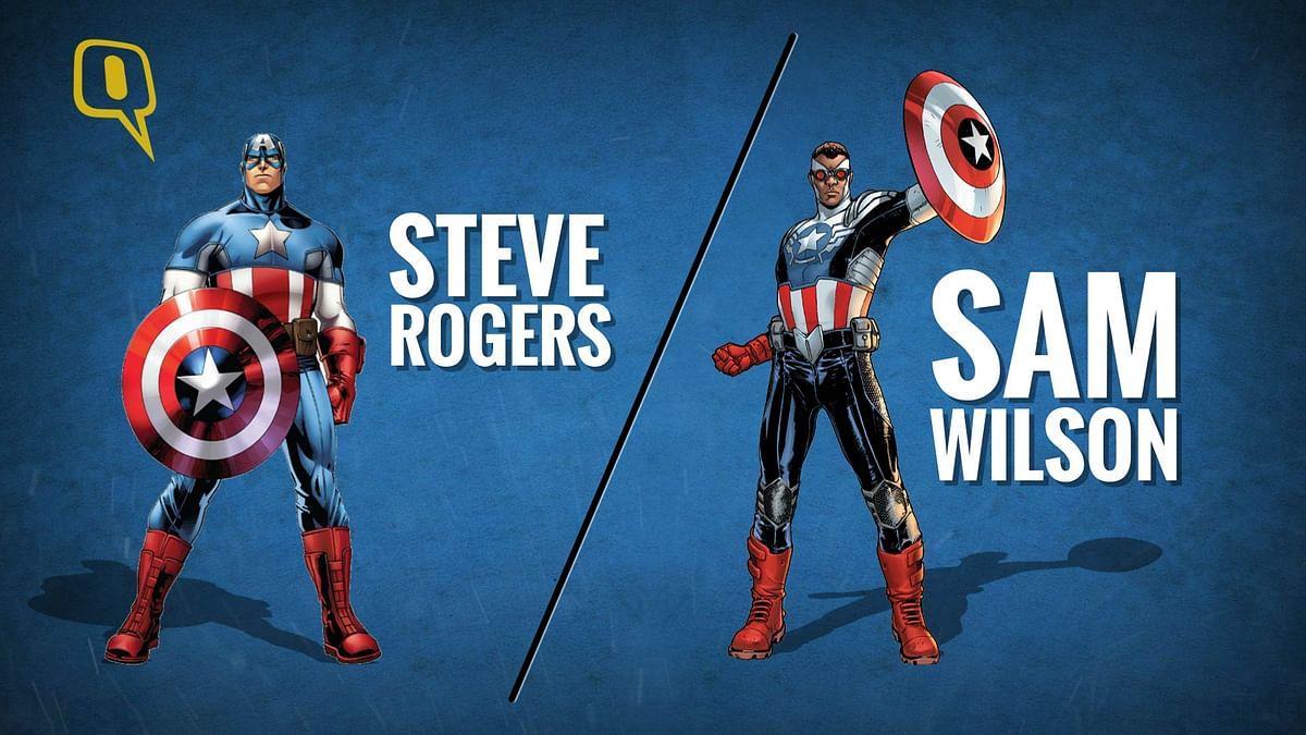 Sam Wilson will take over from Steve Rogers as Captain America.