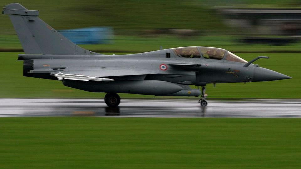 A French Dassault Rafale fighter plane. (Photo: Reuters)