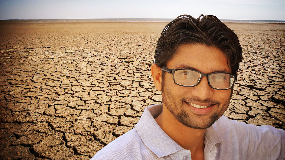Jignesh Mevani is sitting with the list of 17,000 Dalit families to stake claim on a whopping 1,63,608 acres of land. (Photo: Lijumol Joseph/ <b>The Quint</b>)