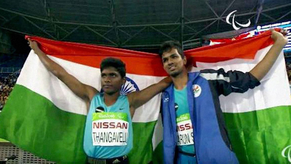 Thangavelu Is India's Flag Bearer at Paralympics Closing Ceremony