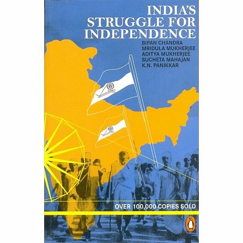 Just a few months ago, Delhi University stopped selling and distributing late historian Bipan Chandra's book <i>India's Struggle for Independence.</i>