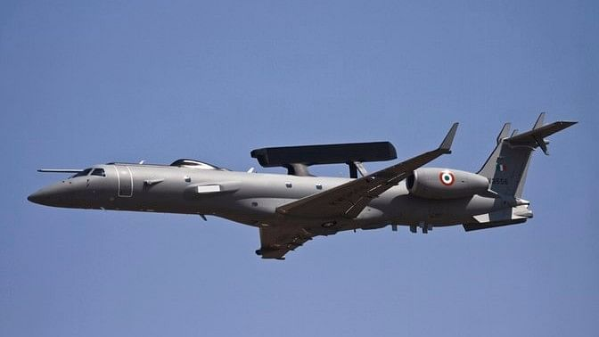 Embraer ERJ 143, which was modified by DRDO and equipped with RADAR capabilities for use of Indian Air Force. Picture used for representational purposes. (Photo: iStockphoto)