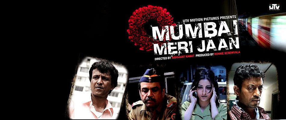 The official poster of Nishikant Kamat's <i>Mumbai Meri Jaan. </i>