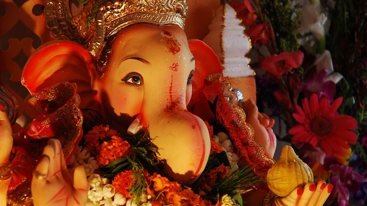 Plastic, plaster and cement Ganeshas are clogging up the waterways. (Photo: iStock)