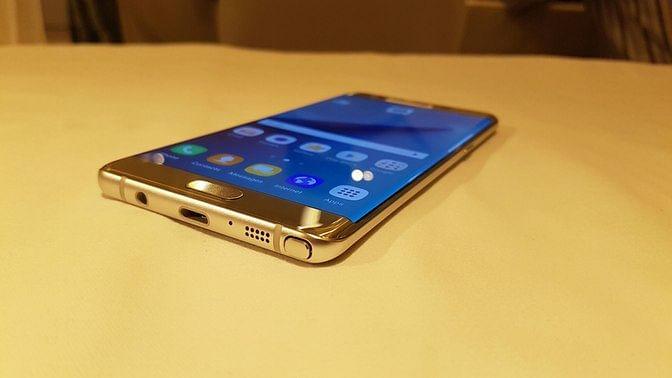 Samsung Galaxy Note 7. (Photo: <b>The Quint</b>)