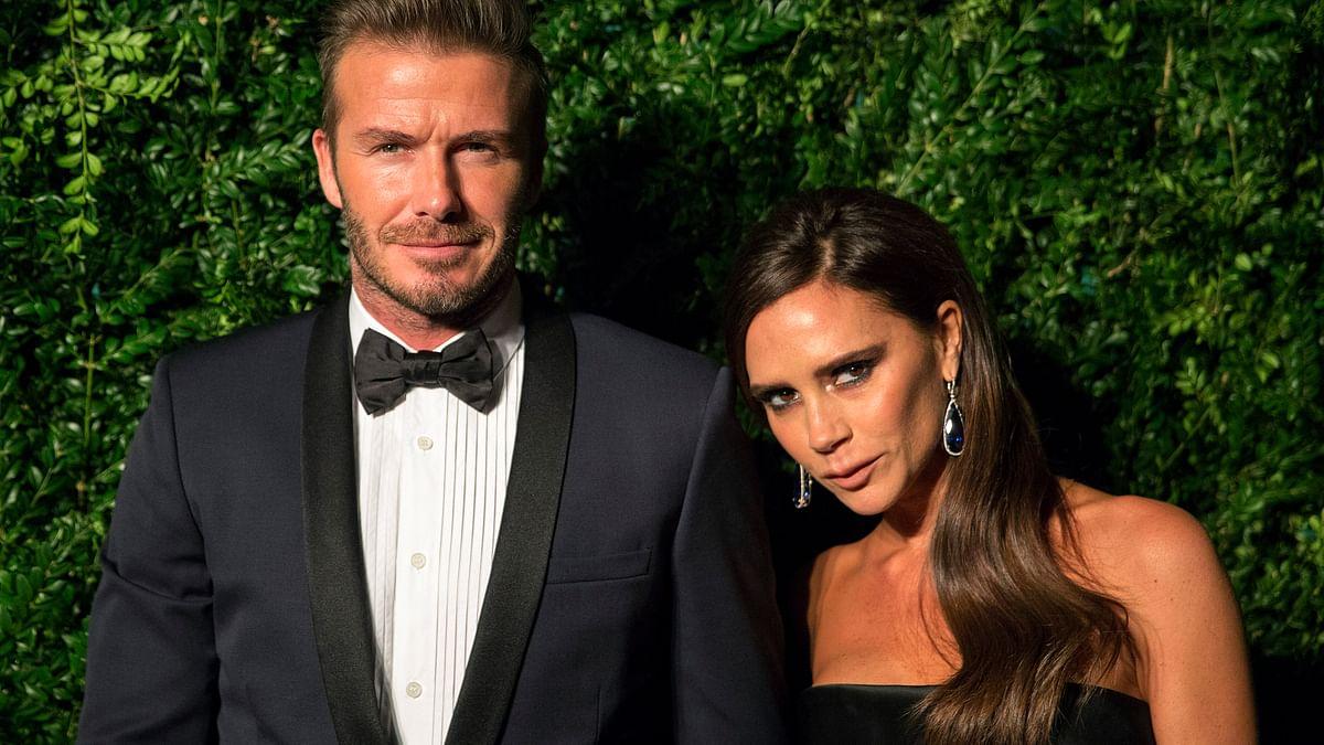 David and Victoria Beckham. (Photo: Reuters)