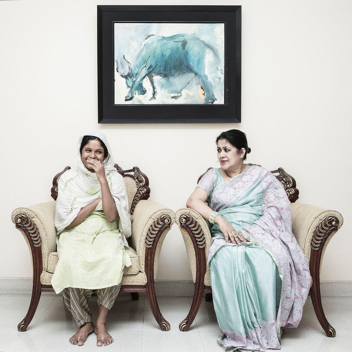 Maya's next project will be an eye opening series on the middle-class housewives of Bangladesh.(Photo Courtesy: Jannatul Mawa)