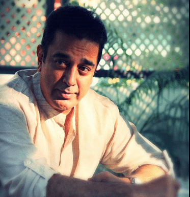 """Kamal Haasan is eager to change his name to Qamal. (Photo Courtesy: <a href=""""https://twitter.com/DiehardKamalian"""">Twitter/@DiehardKamalian</a>)"""