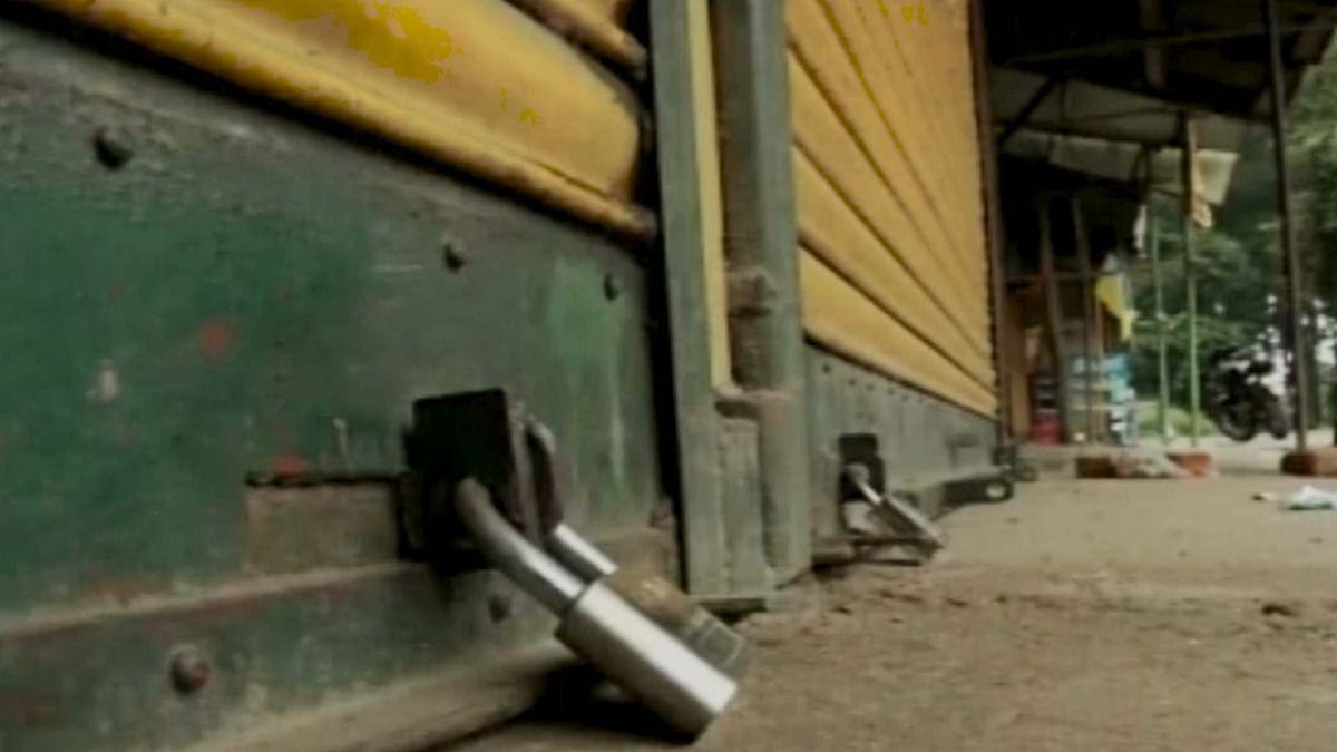 The hill town of Darjeeling has been on a lockdown since June.