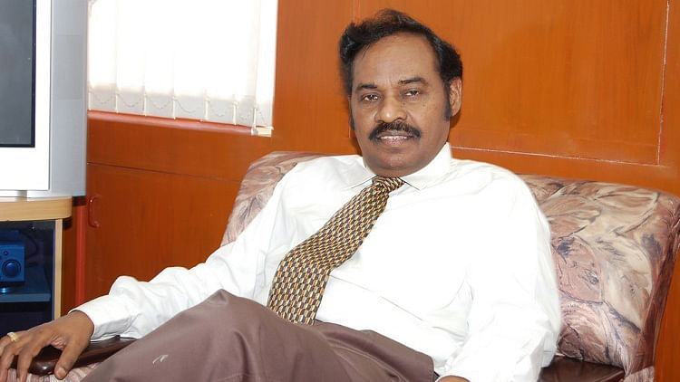 SRM Chancellor was arrested on charges of accepting a bribe. (Photo Courtesy: The News Minute)