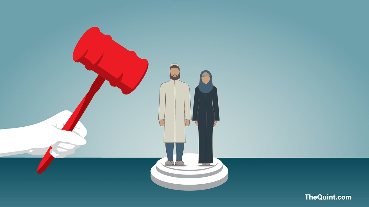 The board represents an archaic and feudal mindset — a mindset that is not Islamic. (Photo: <b>The Quint</b>)