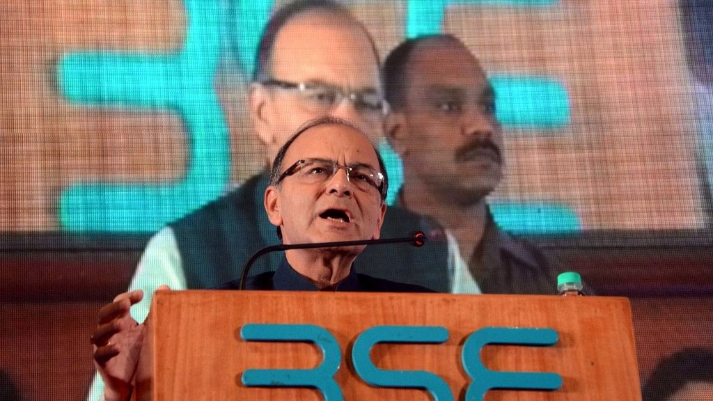 Union Finance Minister Arun Jaitley announced on Wednesday night that the state will get monetary advantage equivalent to what it would have got if it was accorded special category status. (Photo: IANS)