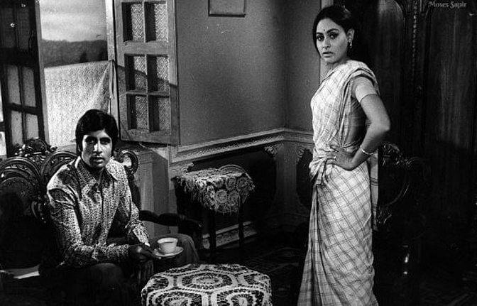 "Jaya Bahchan in <i>Abhimaan, </i>one of the films for which she won a Filmfare award. (Photo Courtesy: Twitter/<a href=""https://twitter.com/SrBachchan/media"">AmitabhBachchan</a>)"