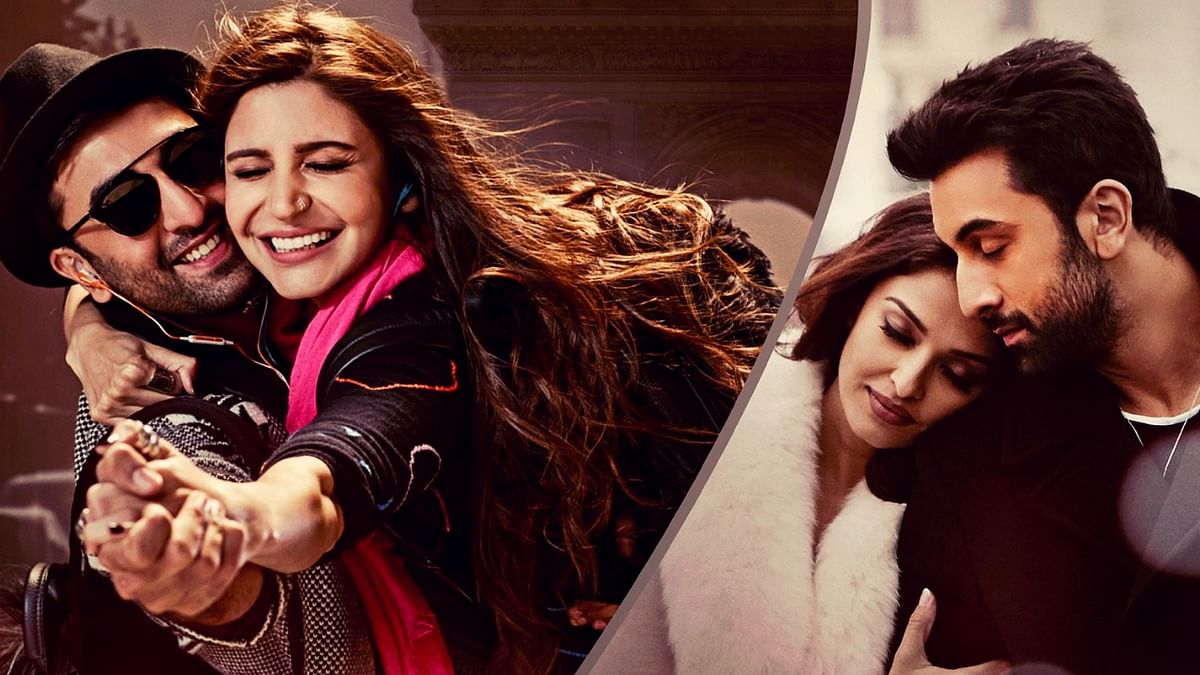 "Ranbir Kapoor, Anushka Sharma and Aishwarya Rai Bachchan in the poster of Ae Dil Hai Mushkil. (Photo courtesy: <a href=""https://twitter.com/DharmaMovies/status/778558087254855680"">Twitter/@DharmaMovies</a>)"