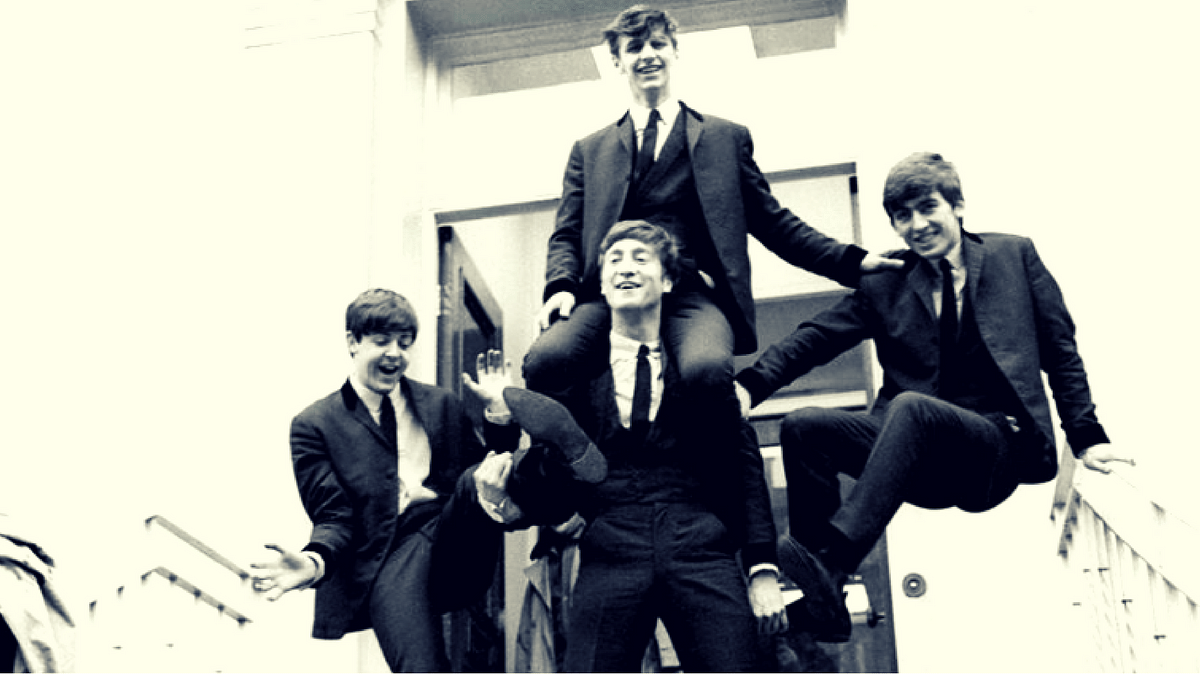 """A time in the 60s before Anna's Parkinson's. (Photo Courtesy: <a href=""""https://www.facebook.com/thebeatles/photos?ref=page_internal"""">Facebook/The Beatles</a>)"""