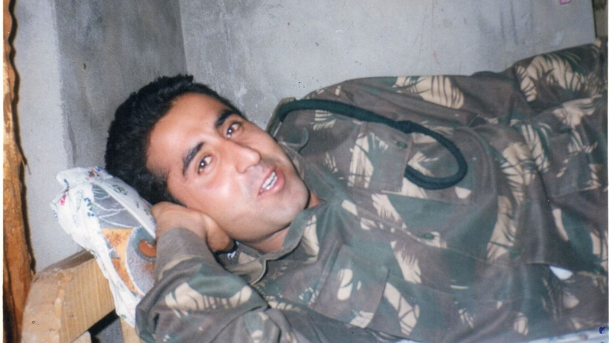 Picture of Vikram Batra shared with us by his family.