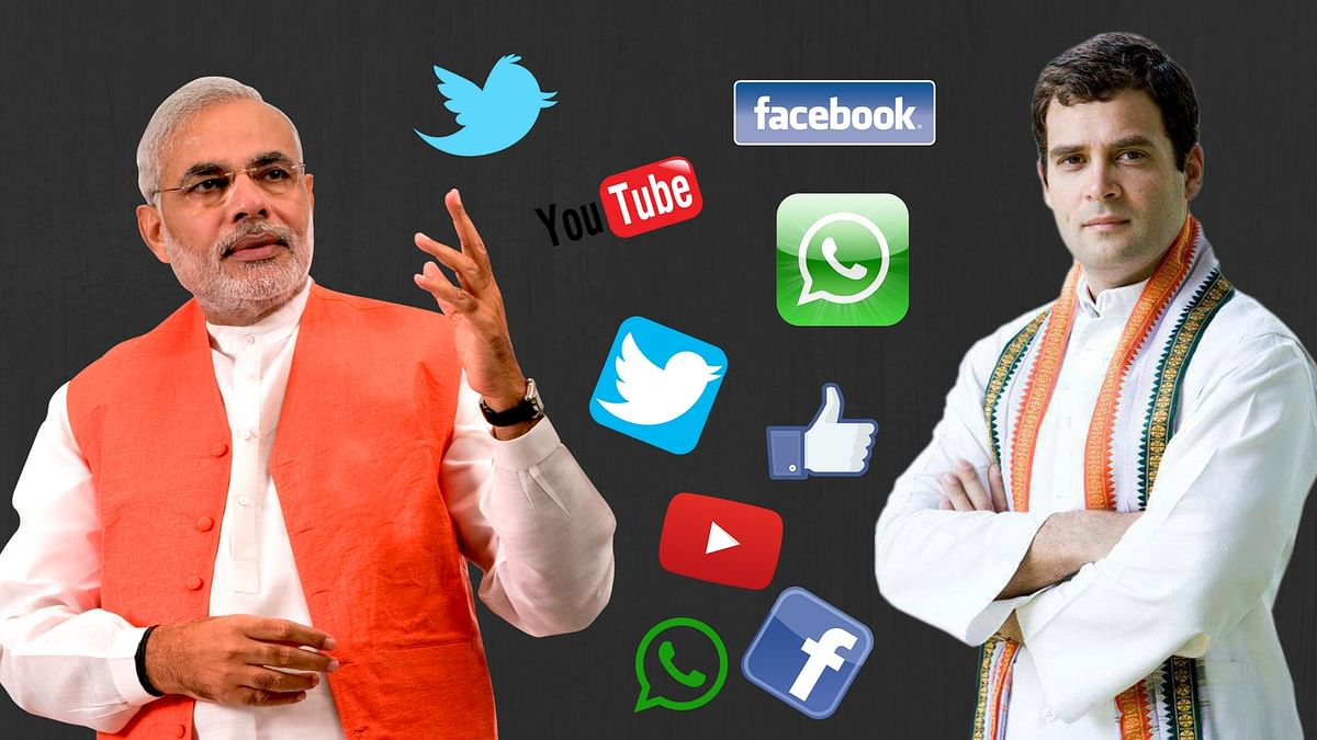 Social media has become the strongest tool for political parties for reaching out to people.