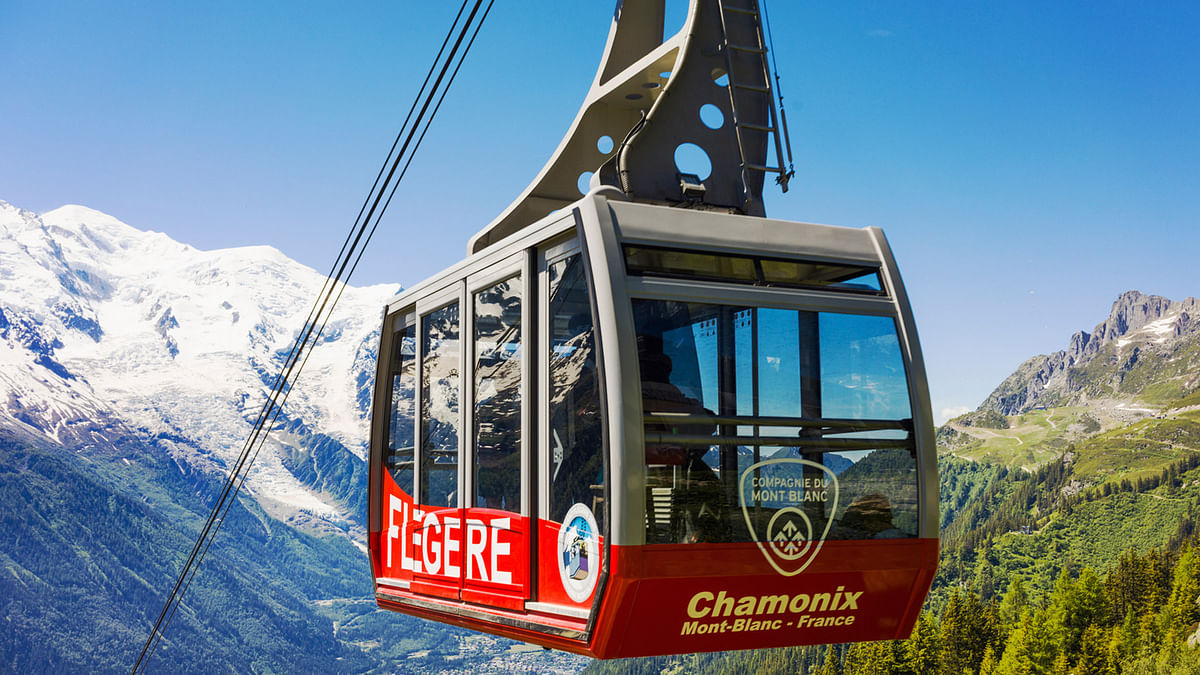 A file photo of the Panoramic Mont-Blanc cable car. (Photo: iStock Photos)