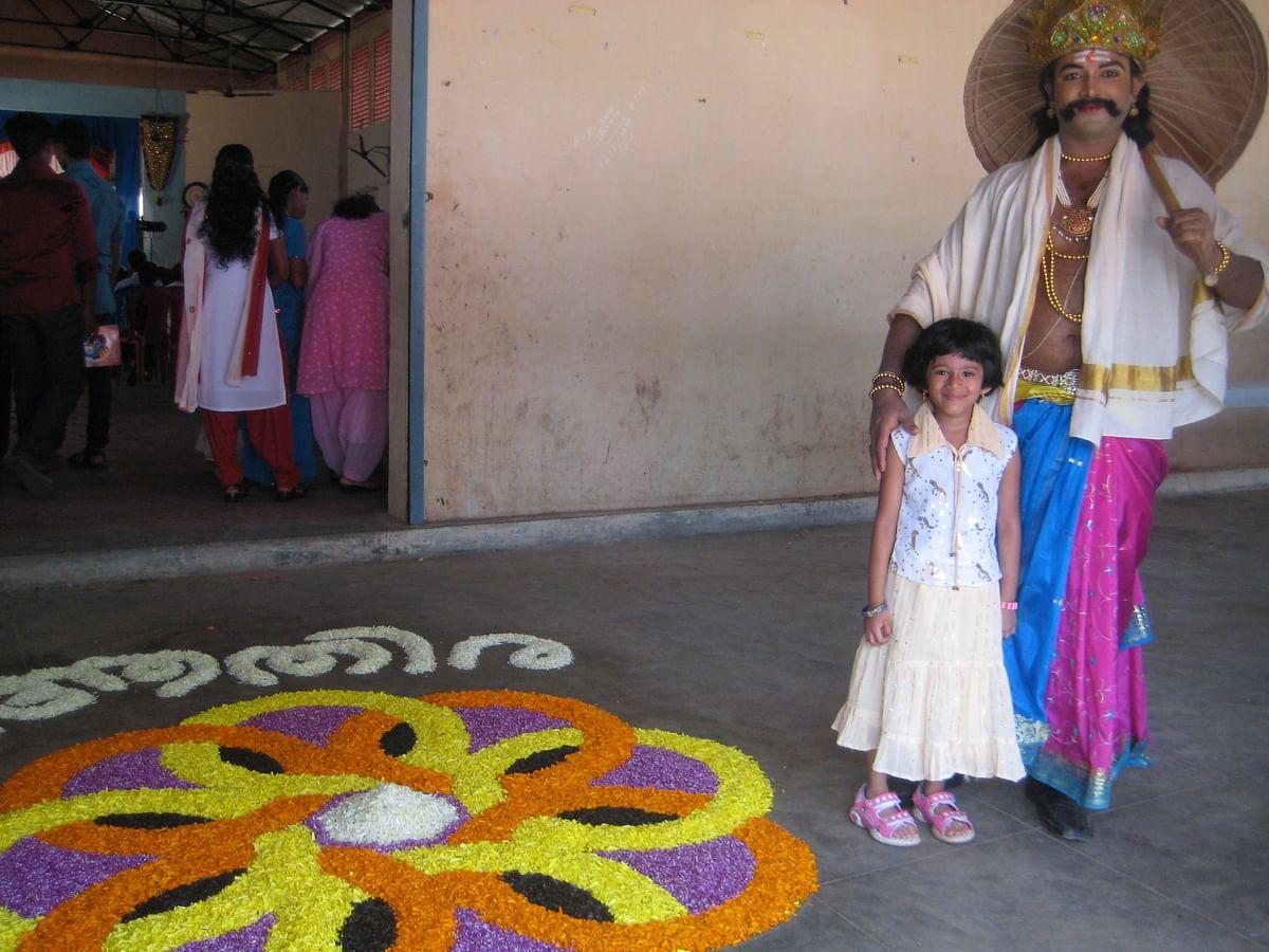 Onam is the celebration of Mahabali's homecoming. (Photo Courtesy: Wikimedia Commons)